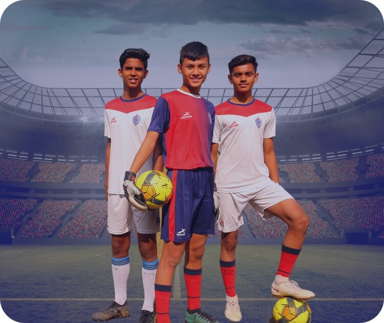 Boarding school with CBSE, ICSE and national-level football training